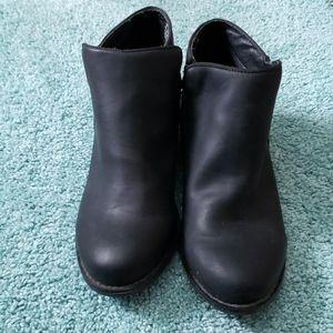 E SPRIT black ankle boot